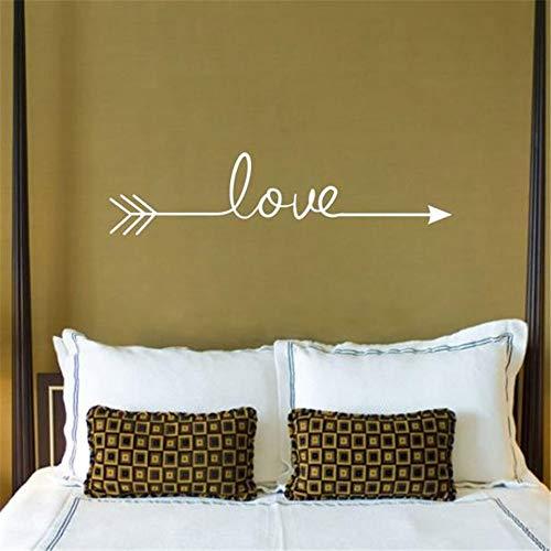 Wandtattoo Kinderzimmer mehrere Farbe Liebe Pfeil Aufkleber Wandaufkleber Wohnzimmer Schlafzimmer graviert Wandtattoo -