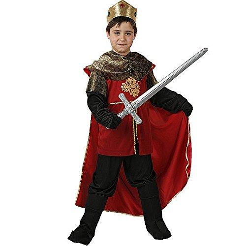 Atosa 94252 - Verkleidung König Mittelalter Gr. (Mittelalter Kostüme König Kinder)