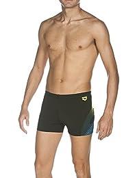 Arena–Pantalón corto, bañador espiral Negro Black/Soft Green Talla:6