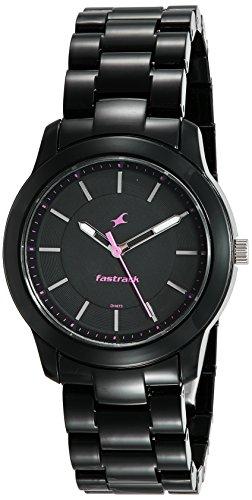 Fastrack Trendies Analog Black Dial Women's Watch-68006PP01
