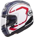 Arai RX-7V Statement Casco integrale da motociclista con visiera, bianco