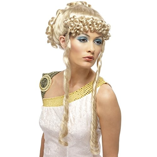 Griechische Göttin Perücke, Blond (Griechische Göttin Perücken)