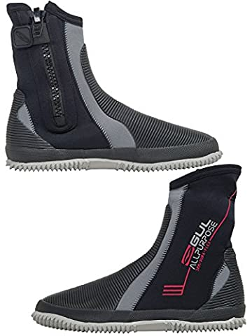 2018 Gul All Purpose 5mm wetsuit Boots in Black / Grey BO1276