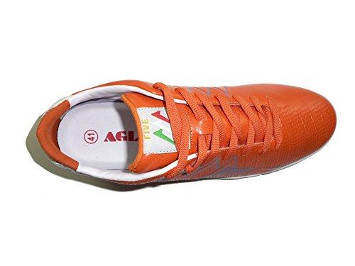 Agla Professional New Five Football En Plein Air Football À 5 futsal Orange