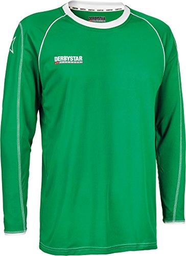 Derbystar Trikot Energy Langarm, L/XL, grün weiß, 6193050410