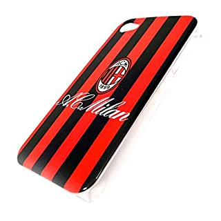 all4yourparty Milan AC 1899 Mailand Cover Rückseite iPhone 4 4S Schwarz Rot phone case mobile