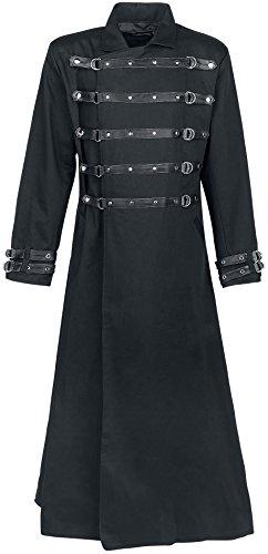 Gothicana by EMP Bondage Coat Cappotto nero S