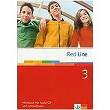 Red Line. Unterrichtswerk für Realschulen / Workbook mit Audio-CD und Lernsoftware 7. Schuljahr