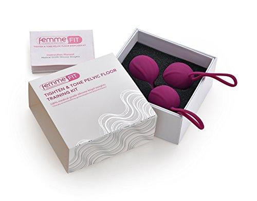 Straffen und Kräftigen BeckenbodenTrainings Kit - Ton Kegel Muskeln und Verbesserung der Kontrolle über die Blase und Inkontinenz - Verbesserte Intimität mit verbesserter Beckenbodenstärke. - 7