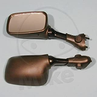 Motorrad Spiegel / Verkleidungs-Spiegel links, Kunststoff, schwarz Suzuki GSX-R 1100, GU75C, Bj. 1993