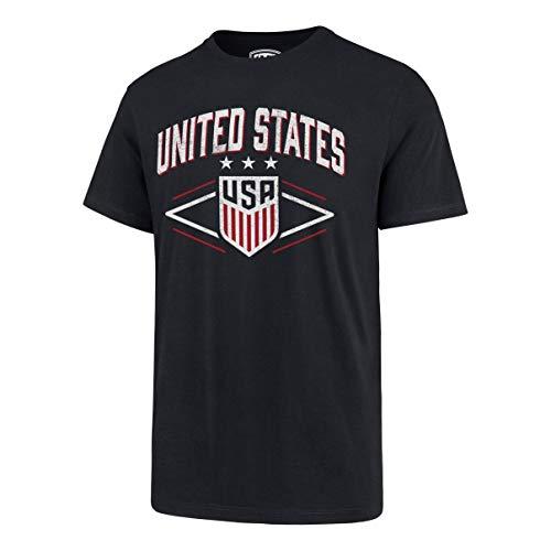 World Cup Soccer Herren OTS Rival Tee, Herren, USSF Men's OTS Rival Tee, Distressed Bar Nunn - Fall Navy, X-Large - World Baseball Classic T-shirts