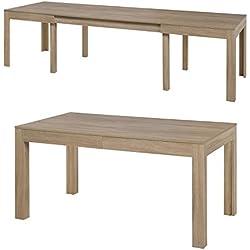 Tisch Küchentisch Esszimmertisch Esstisch WENUS ausziehbar 300 cm !!! (Sonoma Eiche)