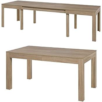 Esstisch Designer Tisch MASSIV ausziehbar 160-220x90 cm Akazie ...