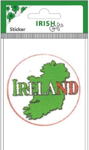 Irish Gifts-Aufkleber-Irland Irish-Island Gifts UK -