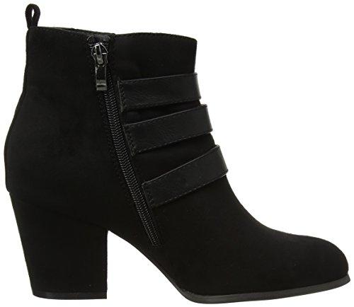 Mtng Women Rita Boots Nero (antil Negro / Petrolatum Negro)
