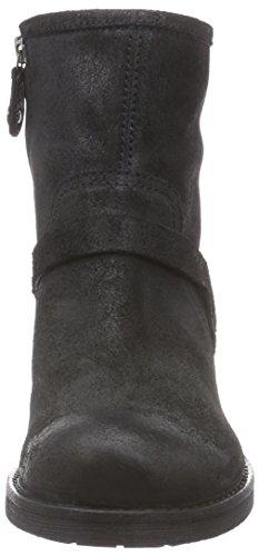 Geox  D NEW VIRNA B, Bottines femme Noir (C9999)