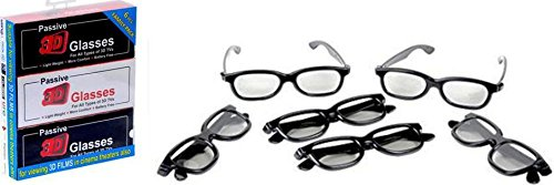 Raylite 3D Glasses (Black)(3D- RD)