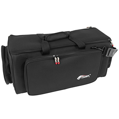 Tiger INC18-BK Tasche für Zwei Trompeten - Schwarz