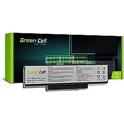 Green Cell® Standard Série A32-K72 Batterie pour ASUS K72 K72F K72J K72JR K73 K73S K73SV N71 N73 N73S N73SV X73 X73E X73S Ordinateur PC Portable (6 Cellules 4400mAh 10.8V Noir)