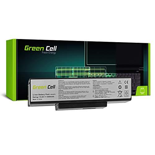 Green Cell Standard Serie A32-K72 Laptop Akku für ASUS K72 K72F K72J K72JR K73 K73S K73SV N71 N73 N73S N73SV X73 X73E X73S (6 Zellen 4400mAh 10.8V Schwarz)