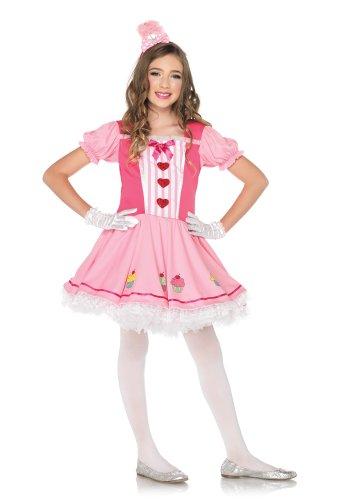 Kinder Kostüm Cupcake - Leg Avenue C48192 - Lil Miss Cupcake Kostüm Set, Größe M, rosa