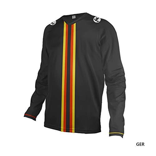 Uglyfrog Bike Wear Herren Downhill/MTB Jersey Mountain Motorrad Clothes Fahrradtrikot Langarm Freeride BMX Frühling Top
