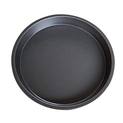 Lorsoul Carbon Steel Non-Stick Pizza Pfanne, Backofen backen Pizza Tabletts, 6-Zoll-Mold Mikrowelle Kuchen Teller Mold, Teller Küche Huhn Werkzeuge