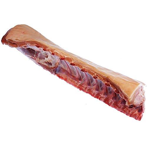 Spanferkelrücken mit Knochen und Schwarte ca. 1500g