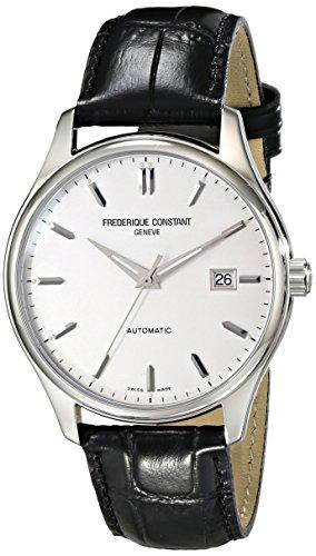 frederique-constant-homme-bracelet-cuir-boitier-acier-inoxydable-automatique-cadran-argent-montre-30