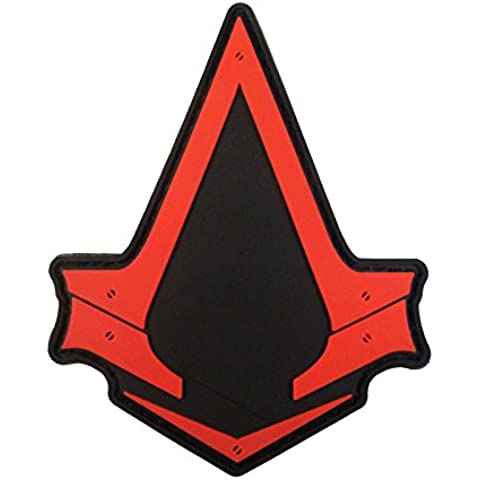 Assassin's Creed Syndicate PS PS3 PS4 Xbox Cosplay PVC Rubber 3D Velcro Patch