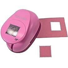 Efco–Perforadora de sello de correos, rosa, 25mm
