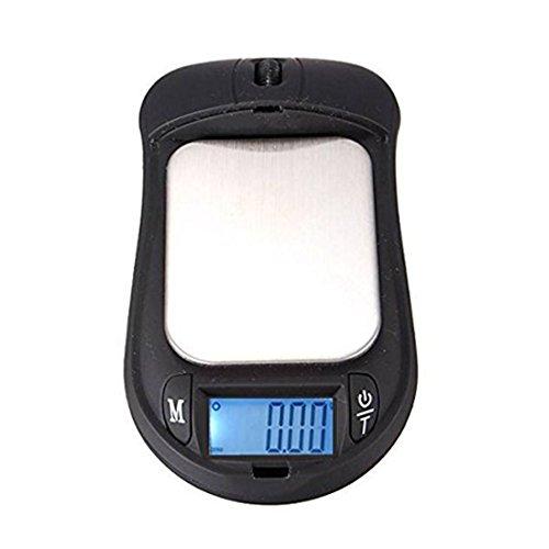 Preisvergleich Produktbild Digital LCD Wireless Mouse Waage Schmuck - SODIAL(R)Professional 200g 0.01g Mini Digitalwaage Taschenwaage Maus geformte Schmuckwaage Feinwaage Goldwaage Briefwaage Schmuck Gramm g/oz/tl/gn/ozt/dwt/ct