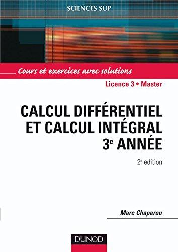 Calcul différentiel et calcul intégral - 2ème édition