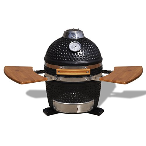 Kamado Barbecue Grill Smoker Ceramic 44 cm