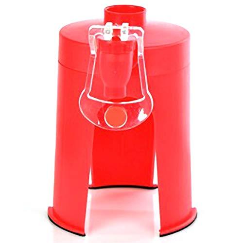 TOOGOO PláStico Mini Tipo De PresióN De Mano Bomba De Botella De Coque De Fuente De Bebida Invertida A Dispensador De Agua Bebida Agua
