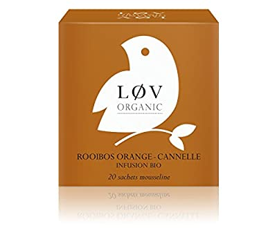 Løv Organic - Rooibos Orange-Cannelle - Boîte de 20 sachets