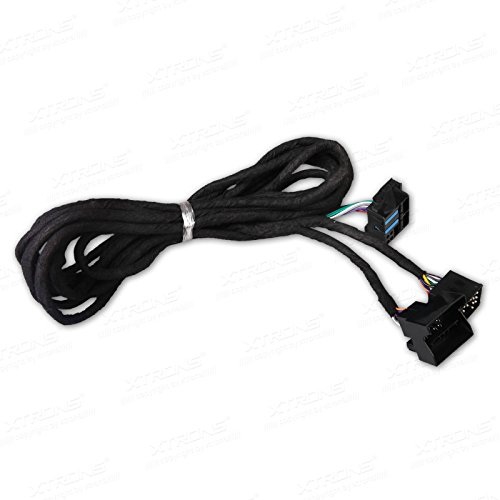 Lange ISO-Kabelbaum geeignet für BMW Head-Unit mit Quadlock-Anschluss ISO Wiring Harness for BMW Suitable for Head Unit with Quadlock Connection ()