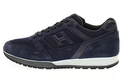 HOGAN scarpe uomo sneakers basse HXM3210X640FJS598W H321 Blu