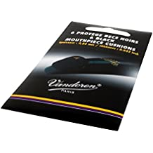 Vandoren VMCX6 - Pack de 6 protectores para boquillas, color negro