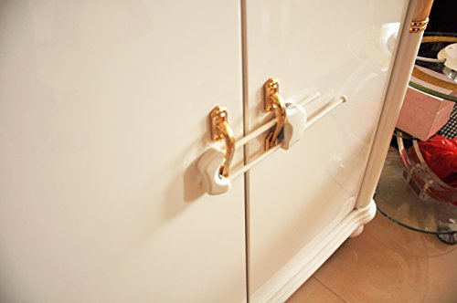 Blossom Child Proofing Solutions Flexi Double Door Latch