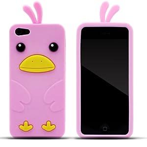 Zooky® rosa Huhn Hülle / Schutzhülle / Cover für Apple Iphone 5 / 5S / SE
