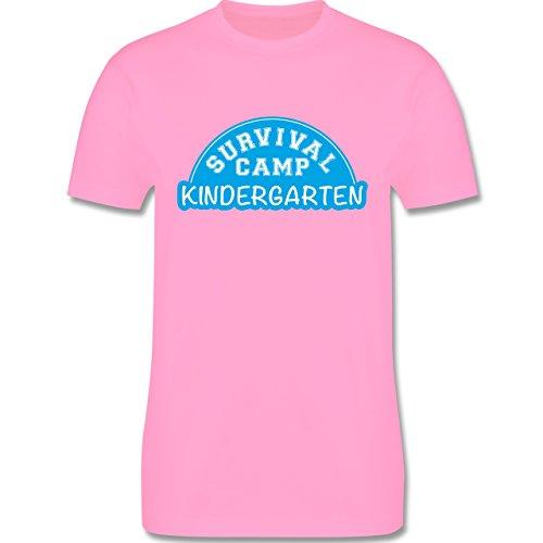 Sonstige Berufe - Survival Camp Kindergarten - Herren Premium T-Shirt Rosa
