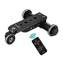 Andoer Auto Dolly Motor Video Slider Skater per Smartphone (Pro Auto 4KG)