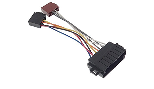 Volvo 4 Radio Adapter Kabel Stecker Iso 440 460 480 740 760 850 960 Kabelbaum Elektronik