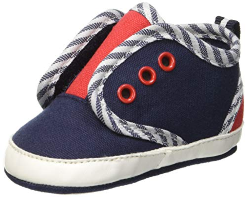ZIPPY Zapatillas Sin Cordones Pre-Walker Para Recién Nacido Chaussons bébé garçon, Bleu (Dress Blue 19/4024 TC 185) 15 EU