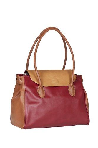 Lässig Tender Boston Bag Wickeltasche/Babytasche inkl. Wickelzubehör, red dragon (Boston Große Bag)
