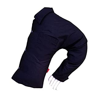 ANDAY Boyfriend Body Pillow Arm Hand Shaped Pillows For Single Women Plush Doll Black