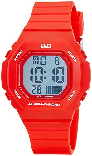 Q&Q Digital Grey Dial Women's Watches - M137J005Y image