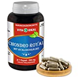 Chondro Royal 60 Kapseln je 430mg mit Hyaluronsäure Glucosaminsulfat, Ackerschachtelhalm, Silberweidenrinde, Chondroitinsulfat, MSM, Grünlippmuschel