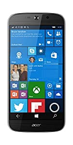 ACER 4G 32 GB Liquid Jade Primo UK SIM-Free Smartphone - Black